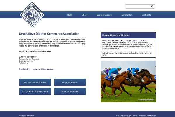Strathalbyn District Commerce Association Website and Business Directory