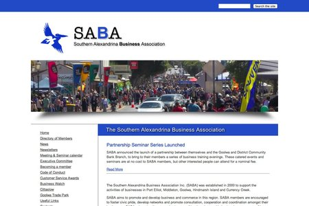 SABA Website
