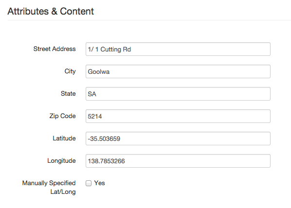 Turning The Page List Block Into A Google Map In Concrete Part - Map a list of addresses