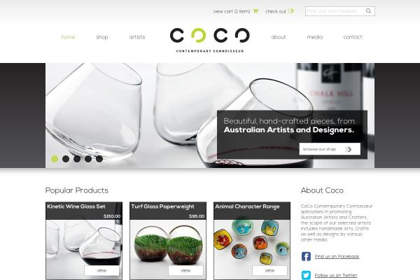 CoCo Contemporary Connoisseur online shop