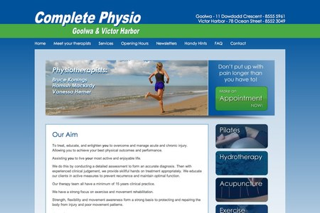 Complete Physio Website
