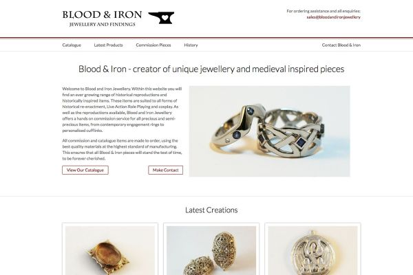 Blood and Iron Period Jewellery