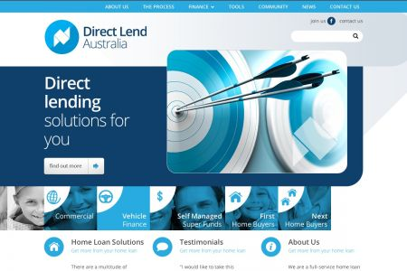 Direct Lend Australia home page