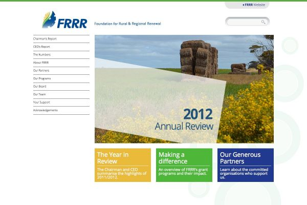 The Foundation of Rural and Regional Renewal (FRRR)