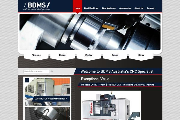 BDMS - CNC Machinery online catalog
